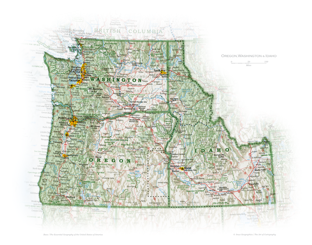 Pacific Northwest 2 | State and Regional Portraits