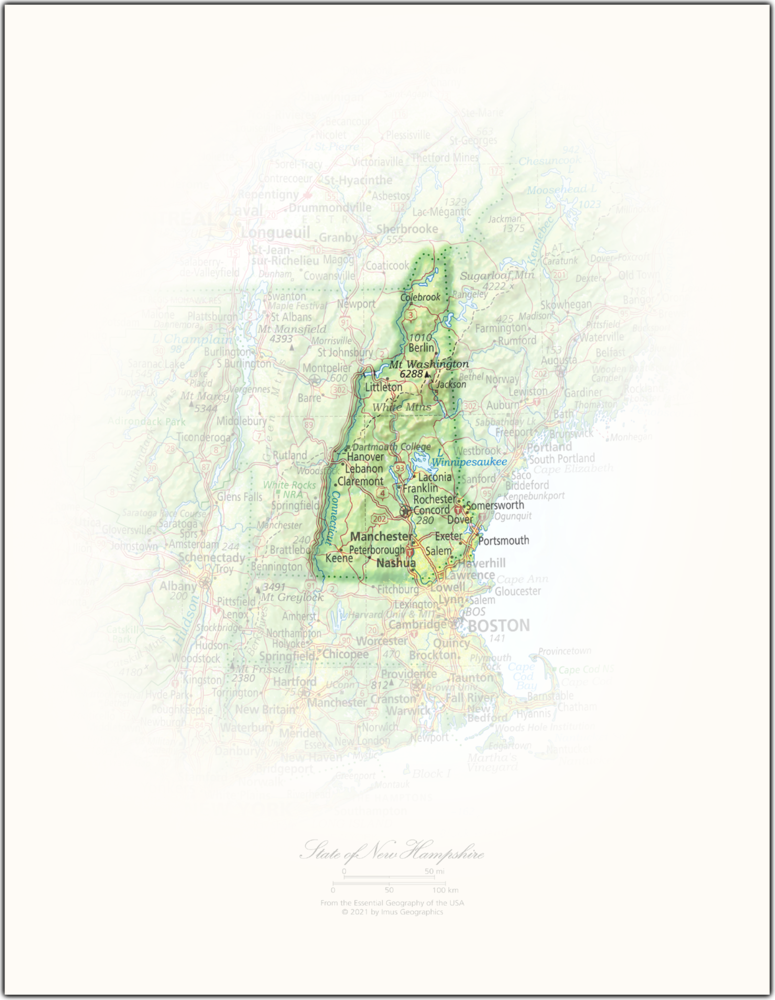 State of New Hampshire   State and Regional Portraits