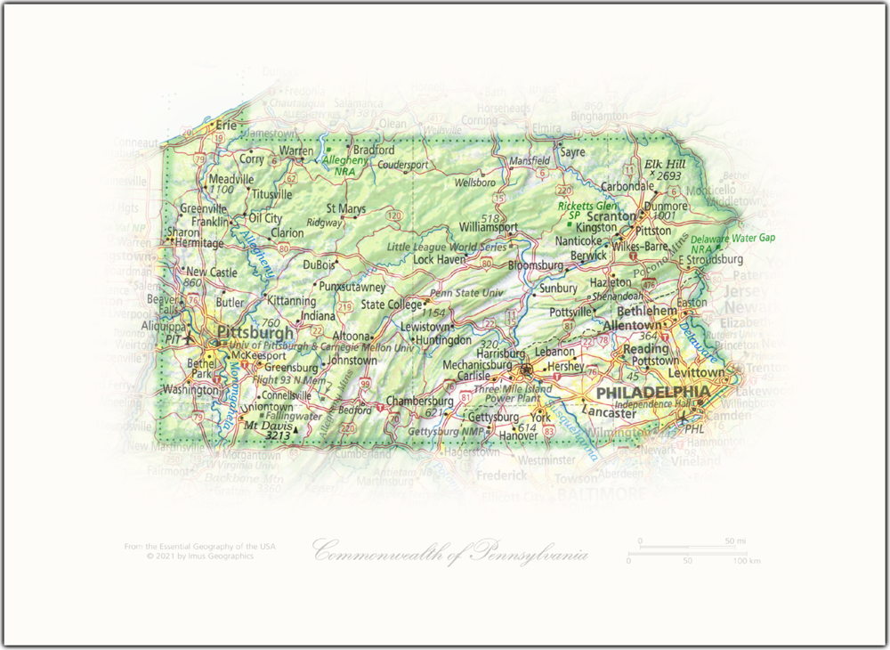 Commonwealth of Pennsylvania | State and Regional Portraits
