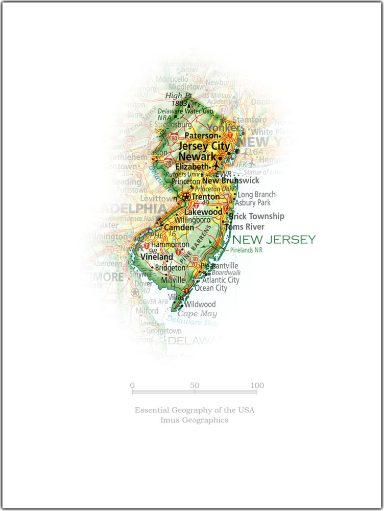Portrait of New Jersey | State and Regional Portraits
