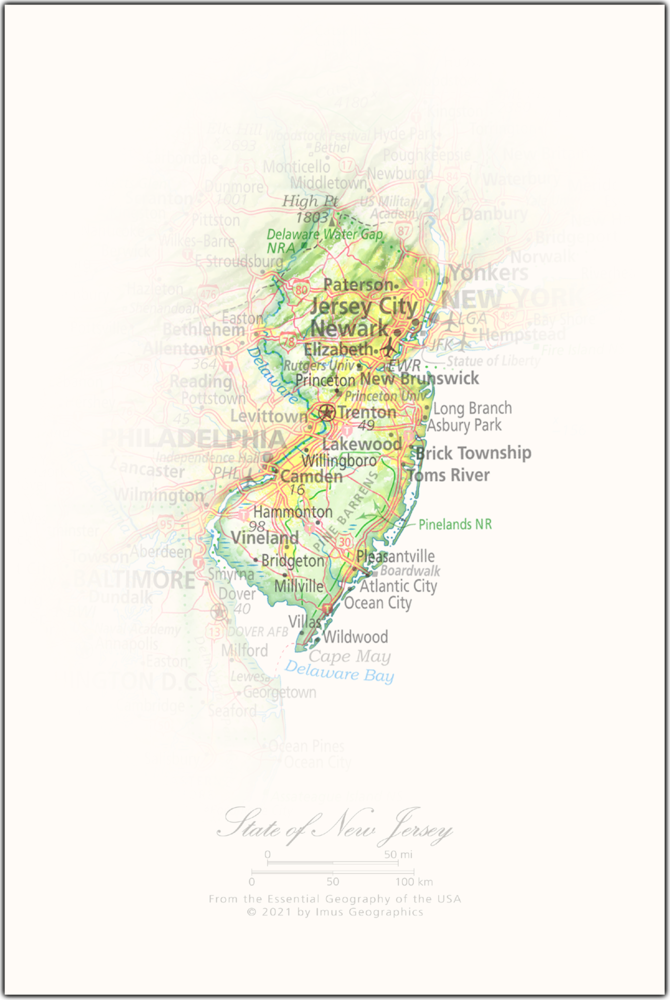 State of New Jersey   State and Regional Portraits