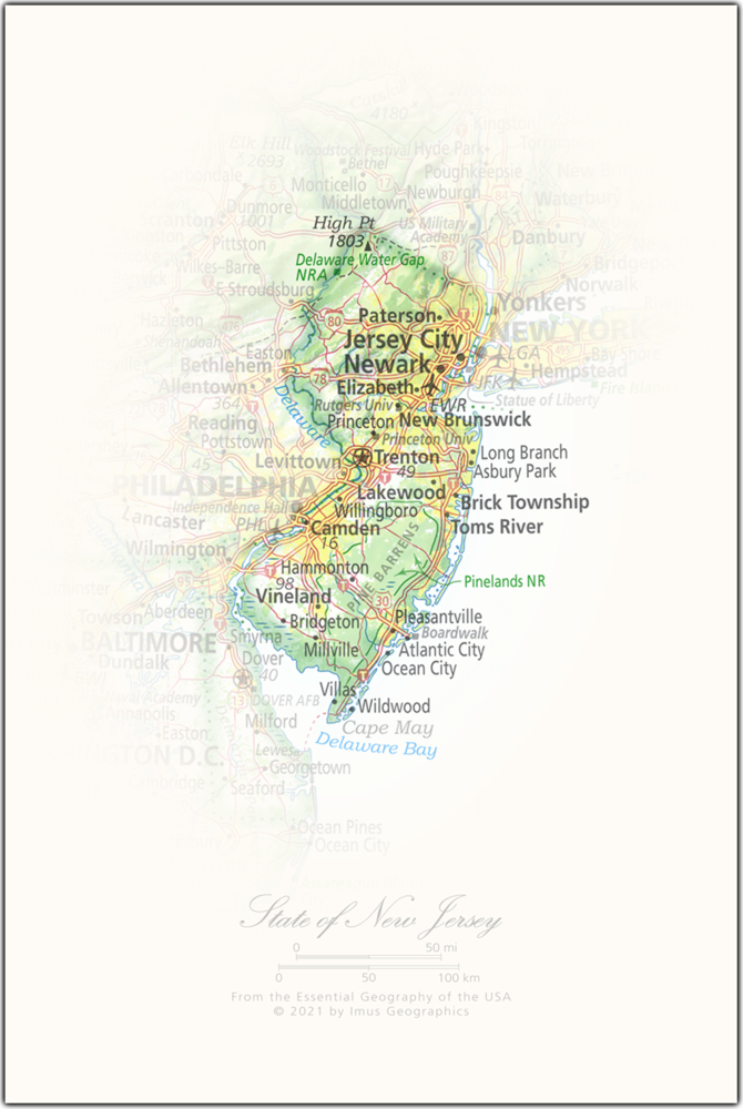State of New Jersey | State and Regional Portraits