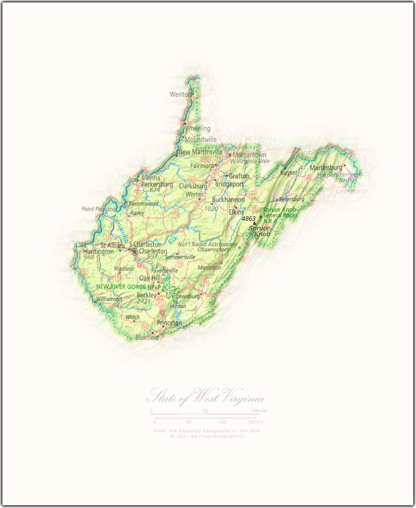 Portrait of West Virginia | State Portraits