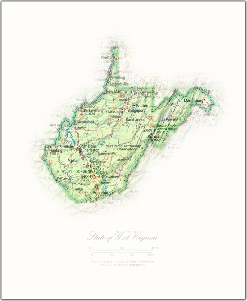 State of West Virginia | State and Regional Portraits