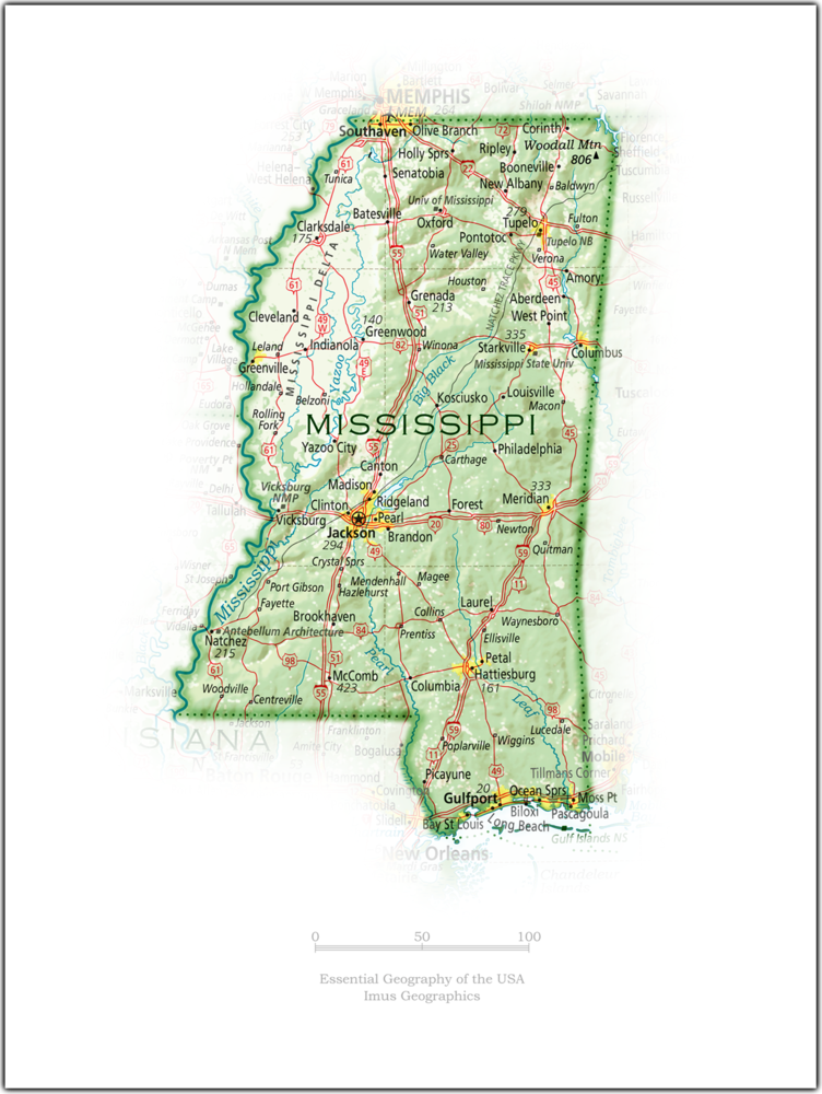 Portrait of Mississippi | State and Regional Portraits