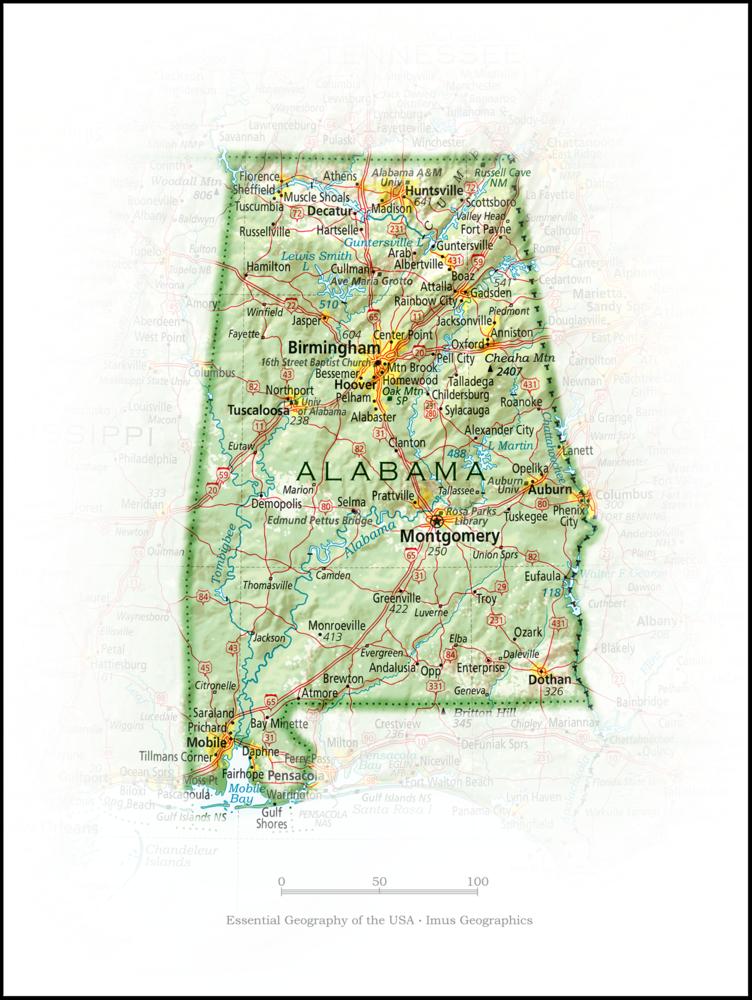 Portrait of Alabama | State Portraits