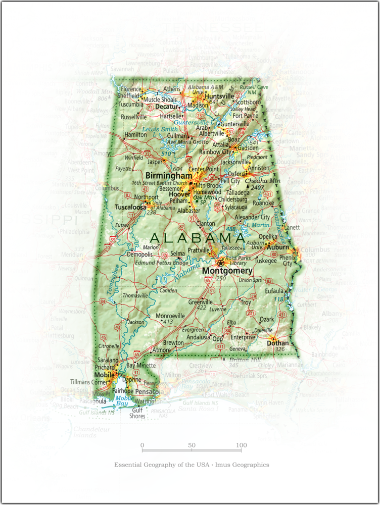 Portrait of Alabama | State and Regional Portraits