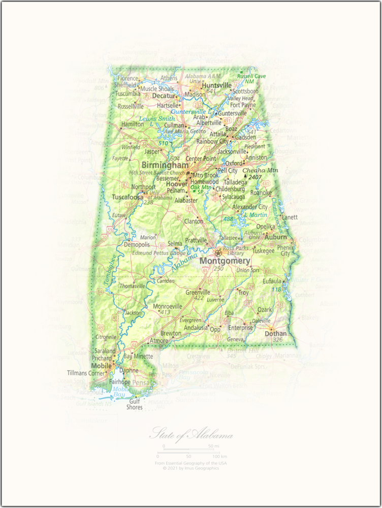 State of Alabama | State and Regional Portraits