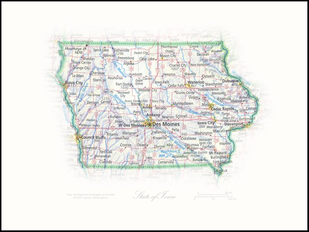 State of Iowa   State Portraits