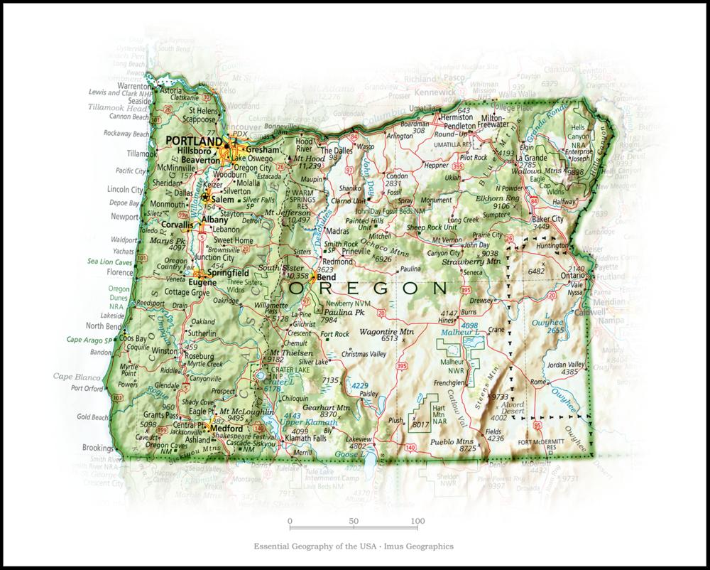 Portrait of Oregon | State Portraits