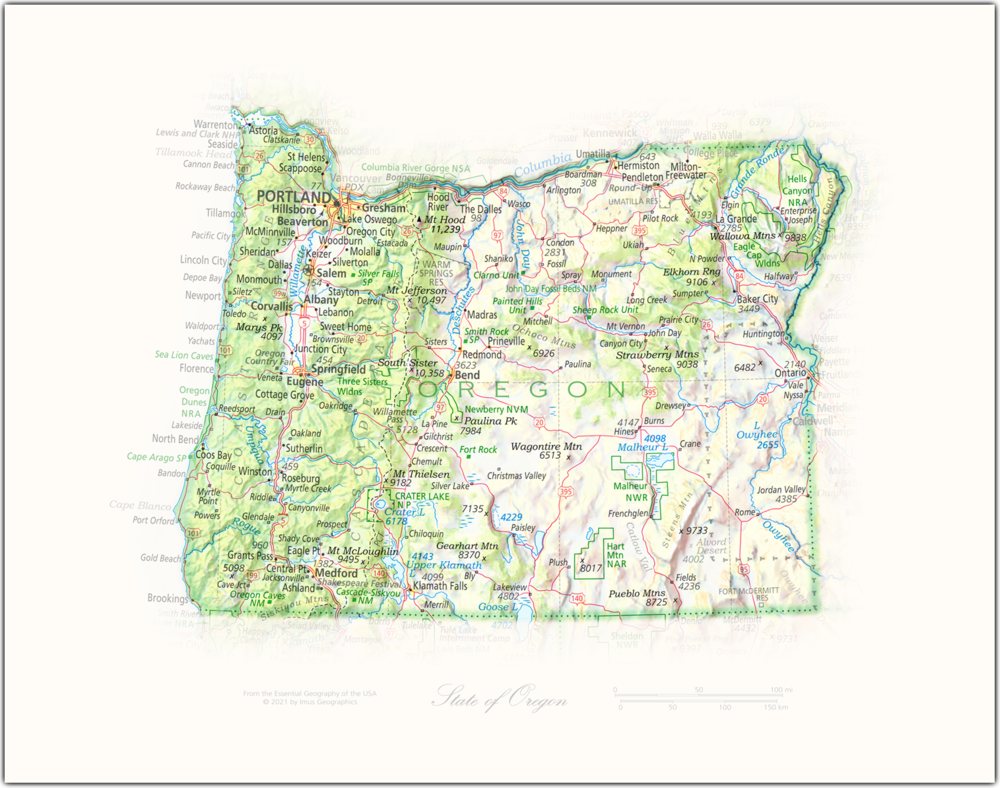 Portrait of Oregon | State and Regional Portraits