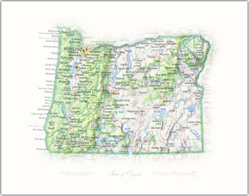 State of Oregon   State Portraits