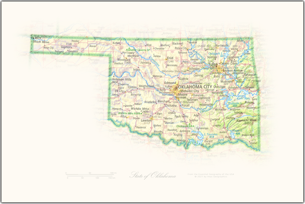 State of Oklahoma | State and Regional Portraits