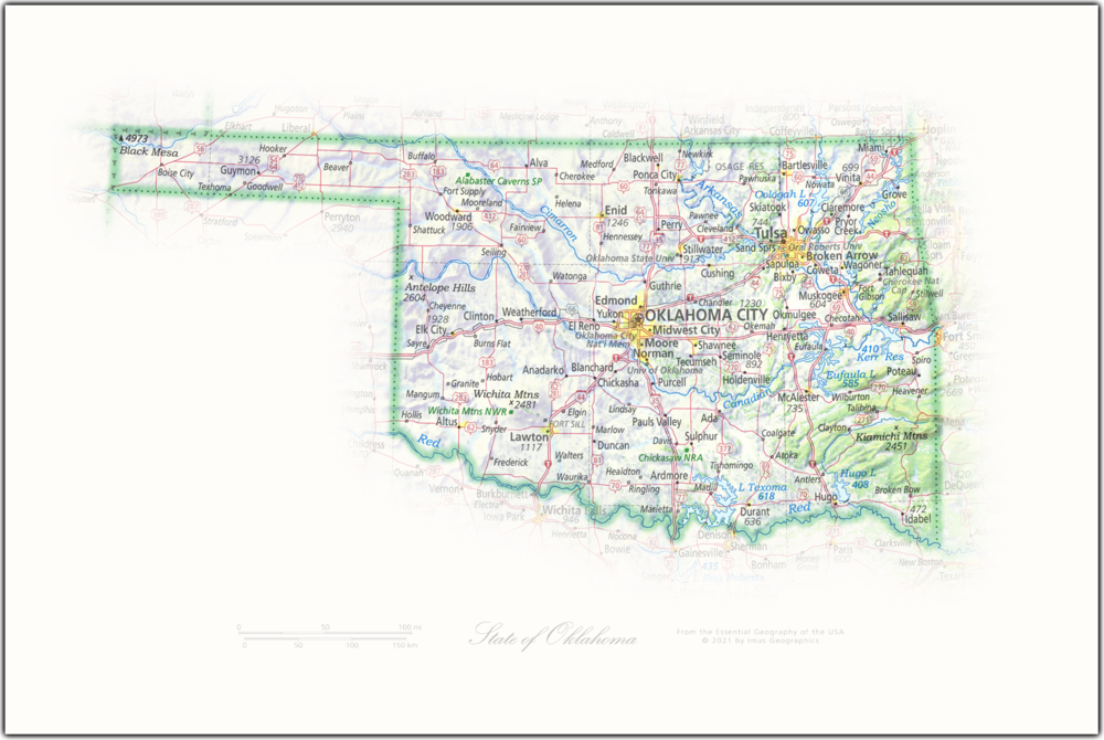 State of Oklahoma | State Portraits