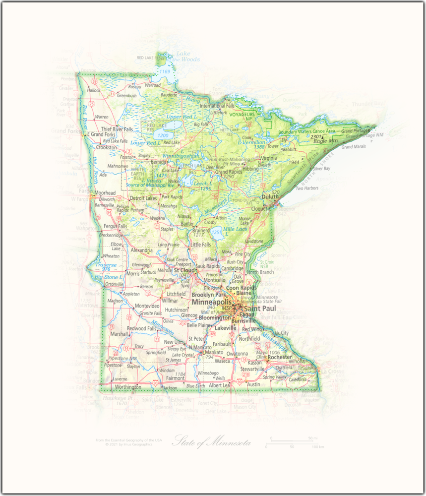 State of Minnesota | State and Regional Portraits
