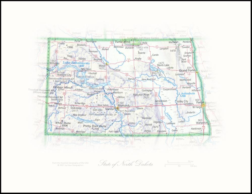 State of North Dakota   State Portraits