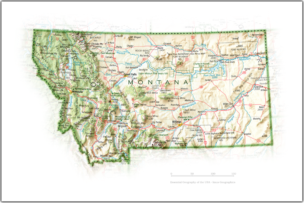 Portrait of Montana | State and Regional Portraits