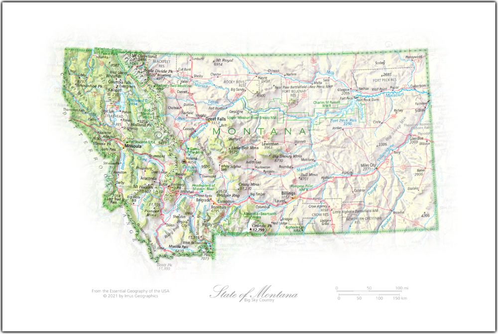 Portrait of Montana | NEW: State and Regional Portraits