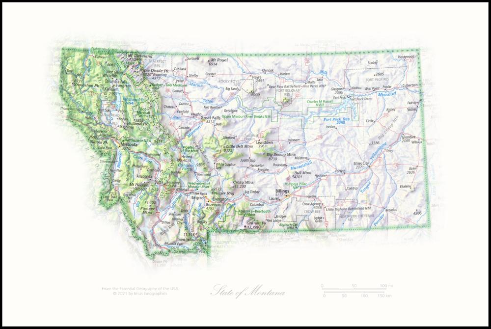State of Montana   State Portraits