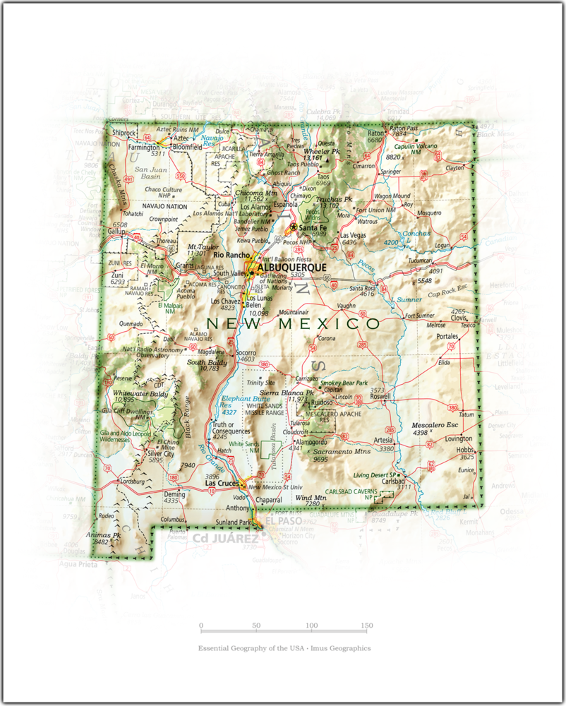 Portrait of New Mexico | State and Regional Portraits