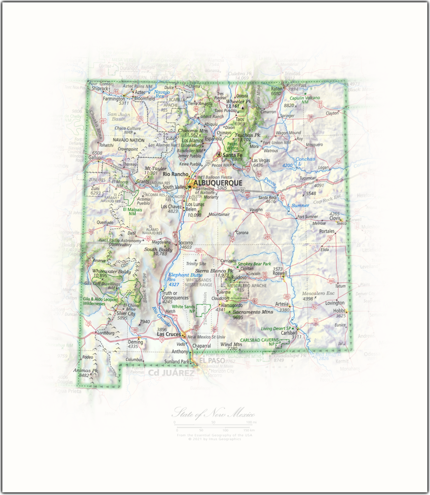 State of New Mexico   State and Regional Portraits