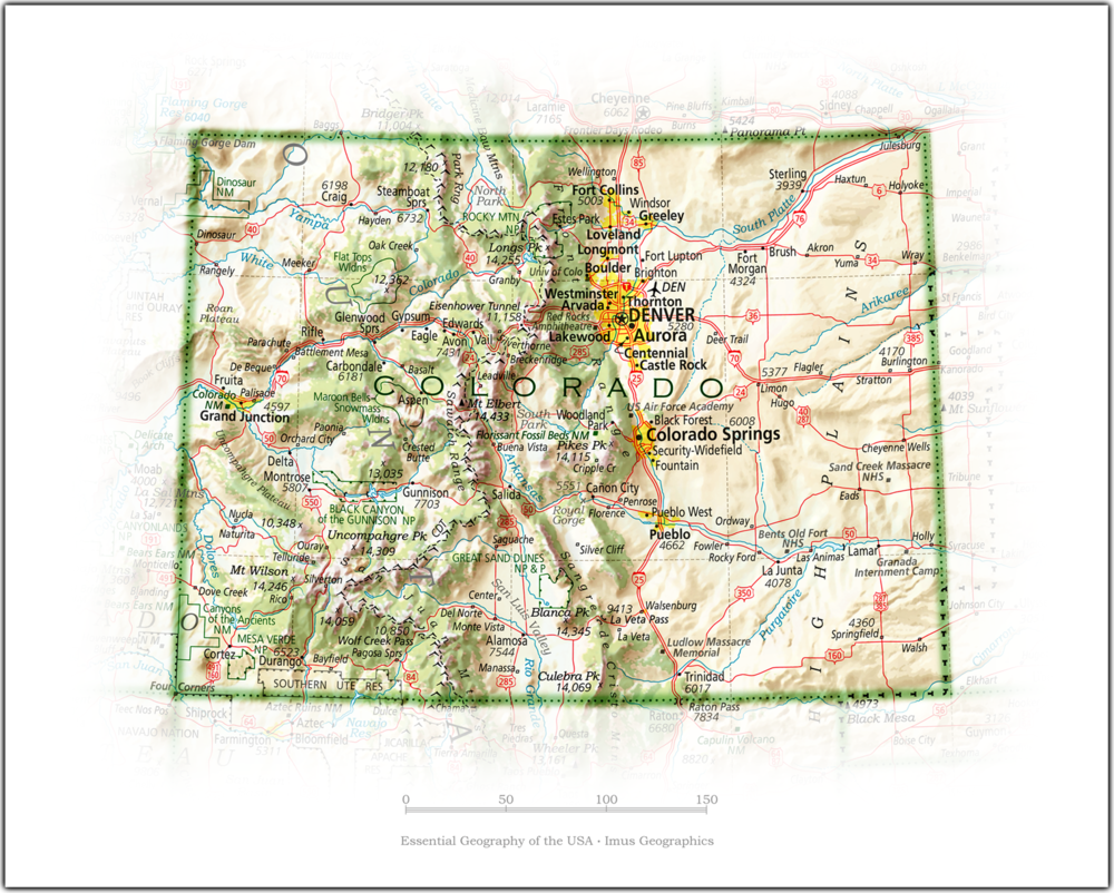 Portrait of Colorado | State and Regional Portraits