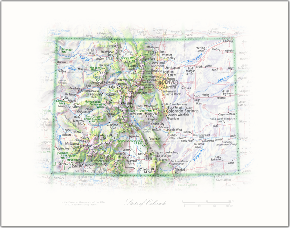 State of Colorado | State Portraits