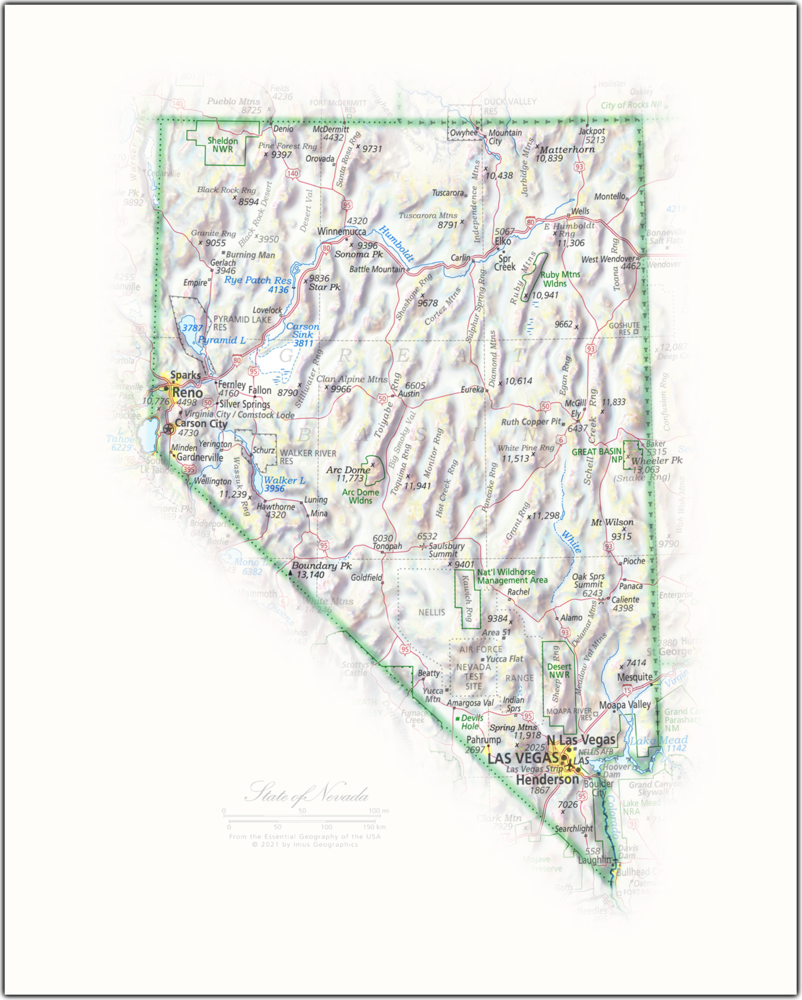 State of Nevada | State Portraits