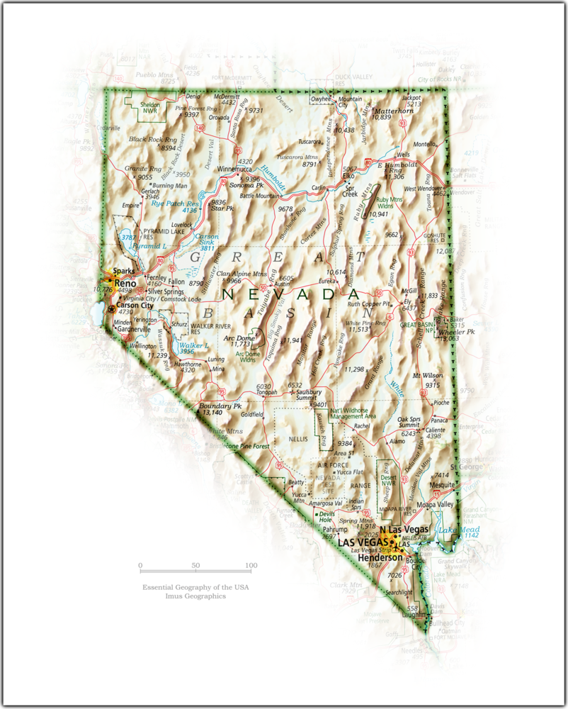Portrait of Nevada | State and Regional Portraits