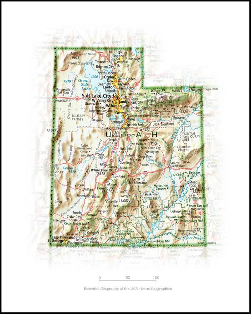 Utah Portrait | 2nd Edition State Portraits