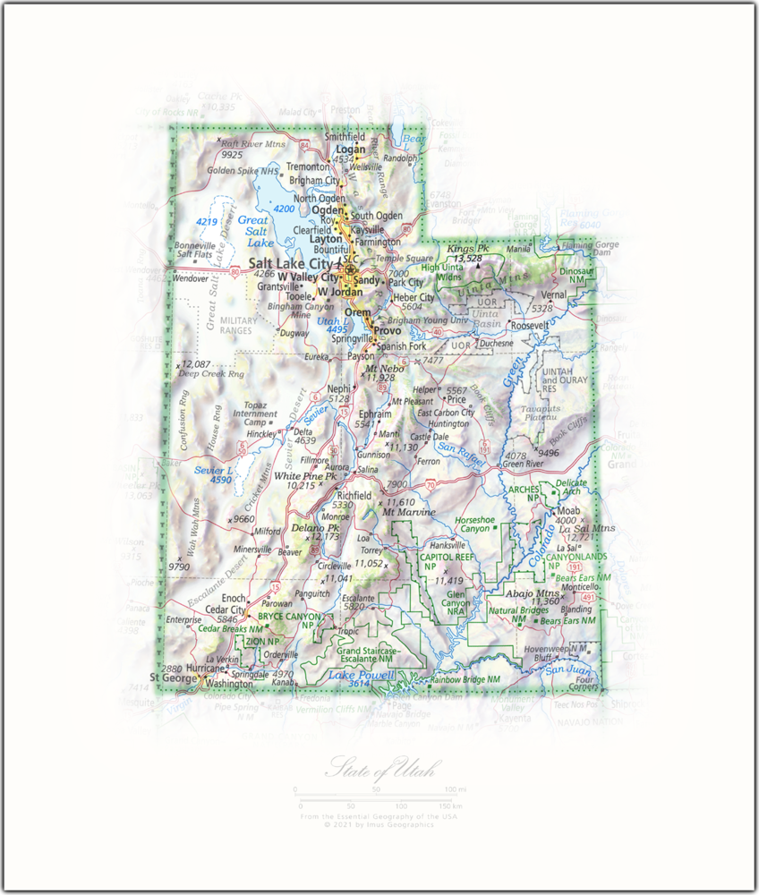 State of Utah   State and Regional Portraits