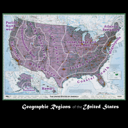 Image Geographic Regions of the United States