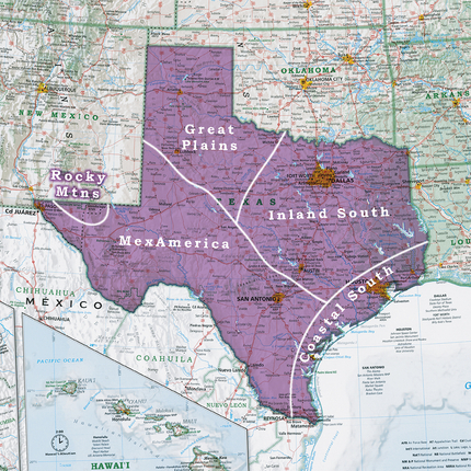 United States Geographic Regions In Texas Rediscover The Usa
