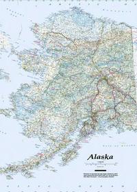 Image Alaska Topo-Travel-Reference Map