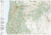 Image Oregon Topo-Travel-Reference Map