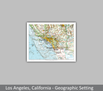Image Los Angeles, California - Geographic Setting