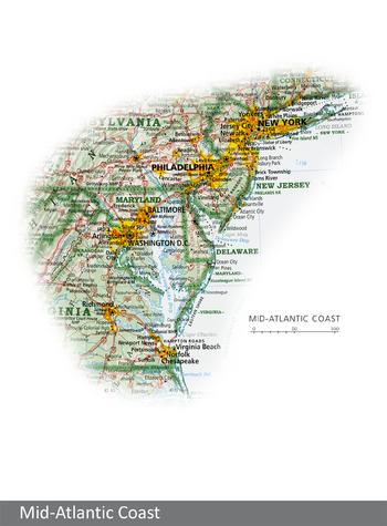 Image Mid-Atlantic Coast