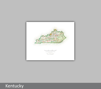 Image Kentucky  State Portrait