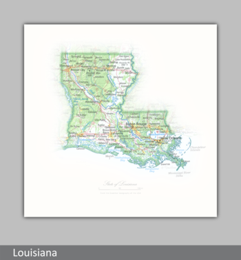 Image Portrait of Louisiana