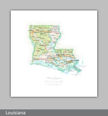 Image Portrait of Louisiana