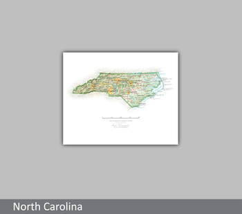 Image North Carolina  State Portrait
