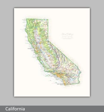 Image Portrait of California