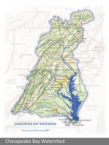 Image Chesapeake Bay Watershed