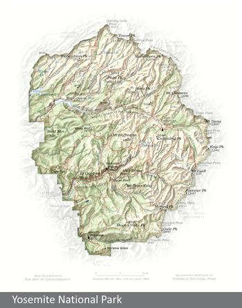 Image Portrait of Yosemite