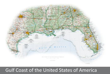 Image Gulf Coast of the United States of America