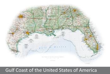 Image Gulf Coast of the United States of America