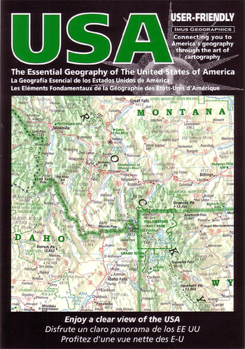 USA - Folded Map, $12.95