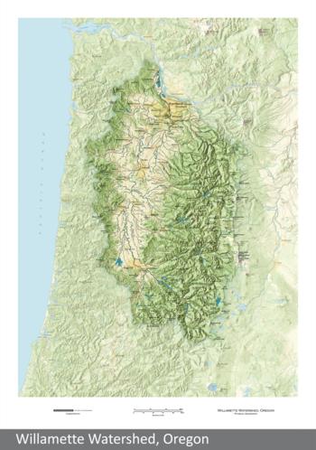Image Willamette Watershed, Oregon