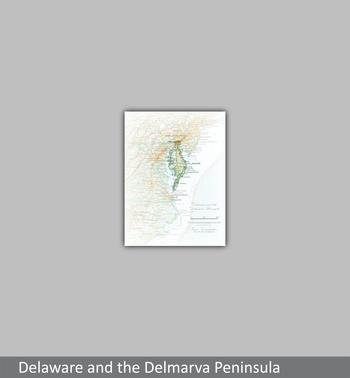 Image Delaware and the Delmarva Peninsula