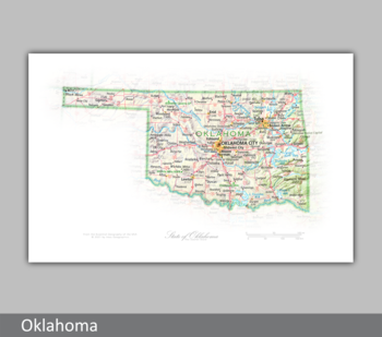 Image Portrait of Oklahoma